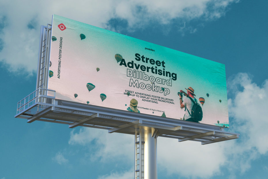 Professional Billboard Mockup