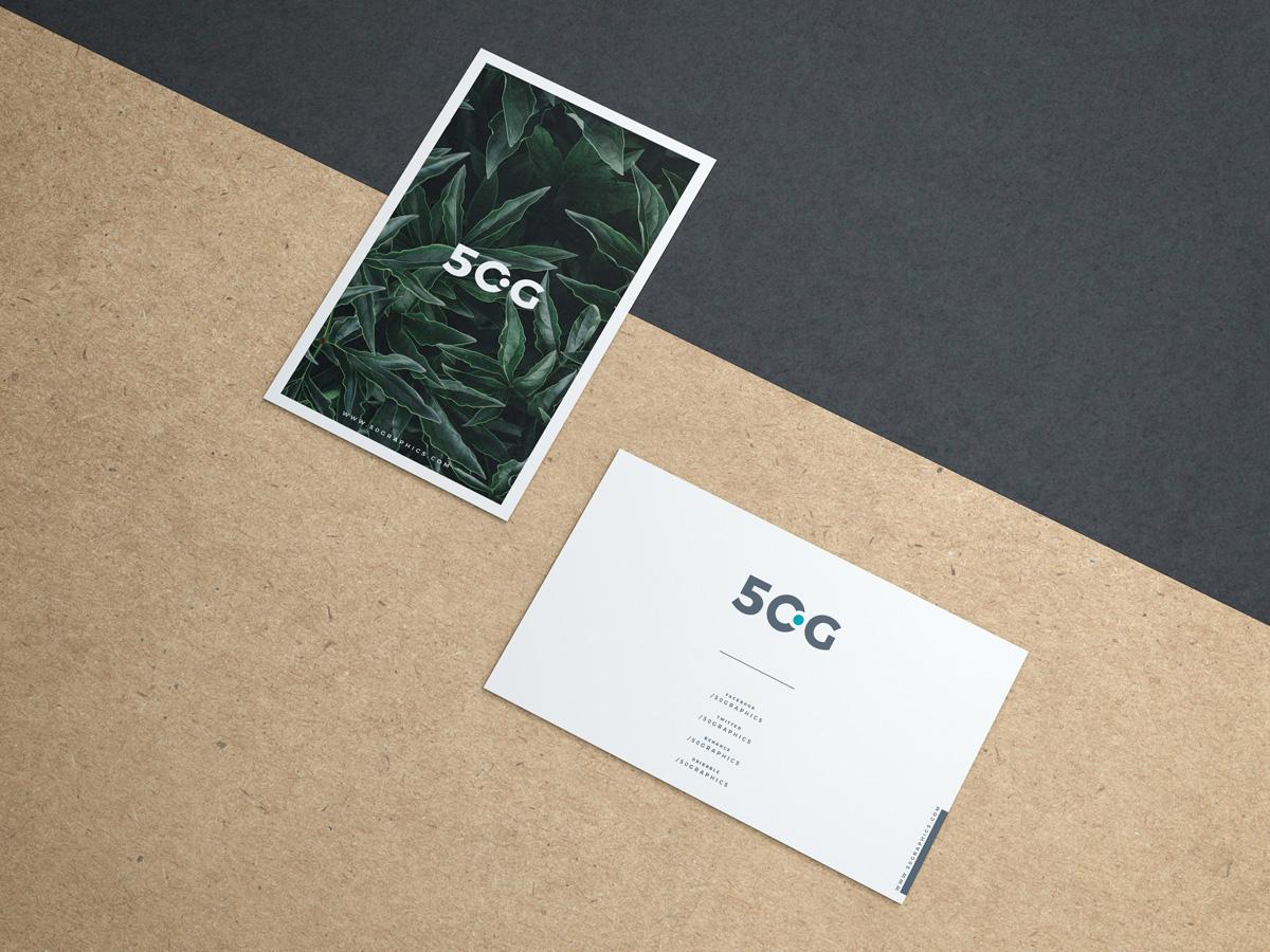 Minimalist-Business-Card-Mockup