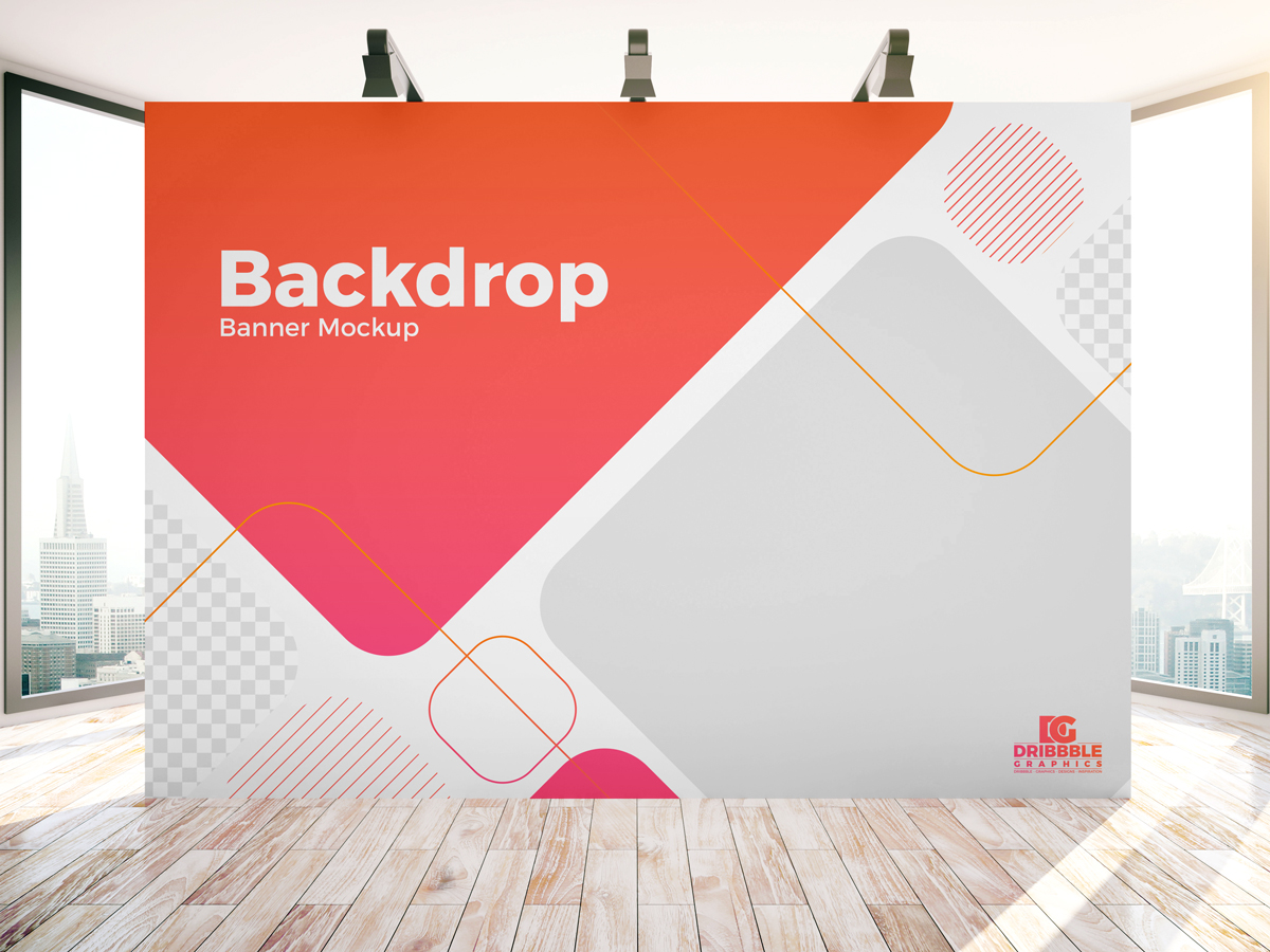Event Backdrop Mockup