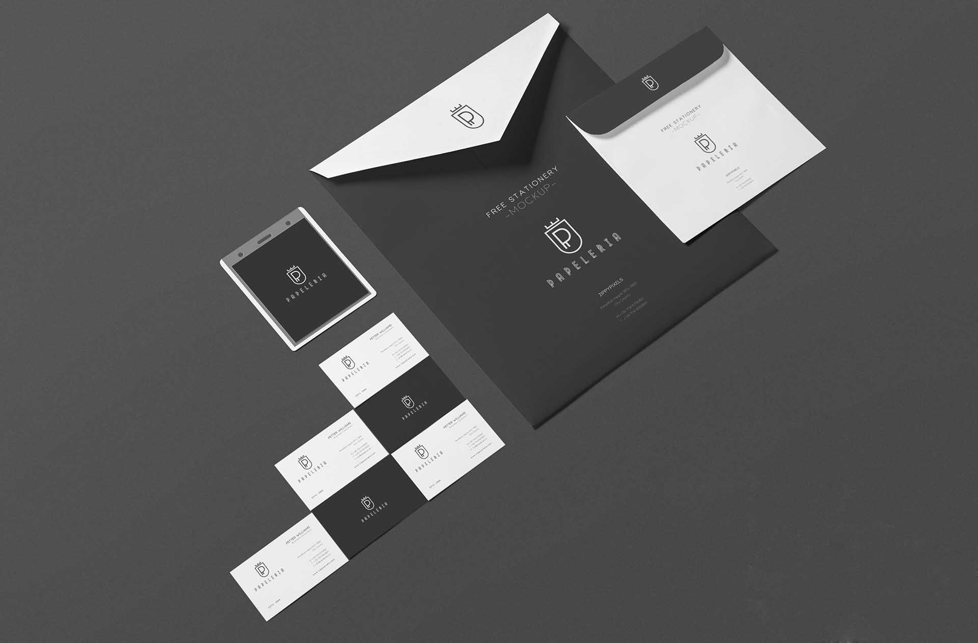 Clean Envelope Mockup