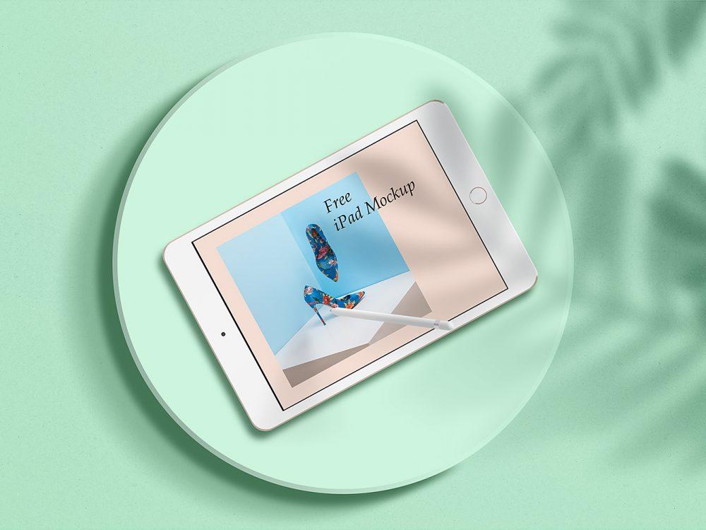 Clean iPad Mockup