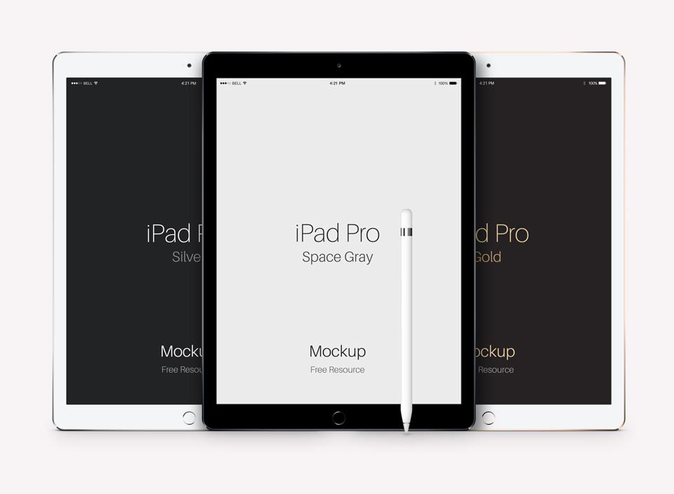 Minimal iPad Pro Mockup