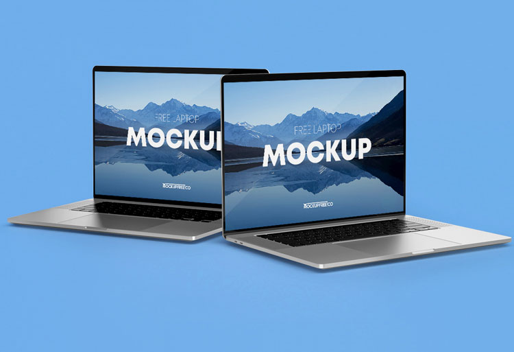 Sleek Laptop Mockup