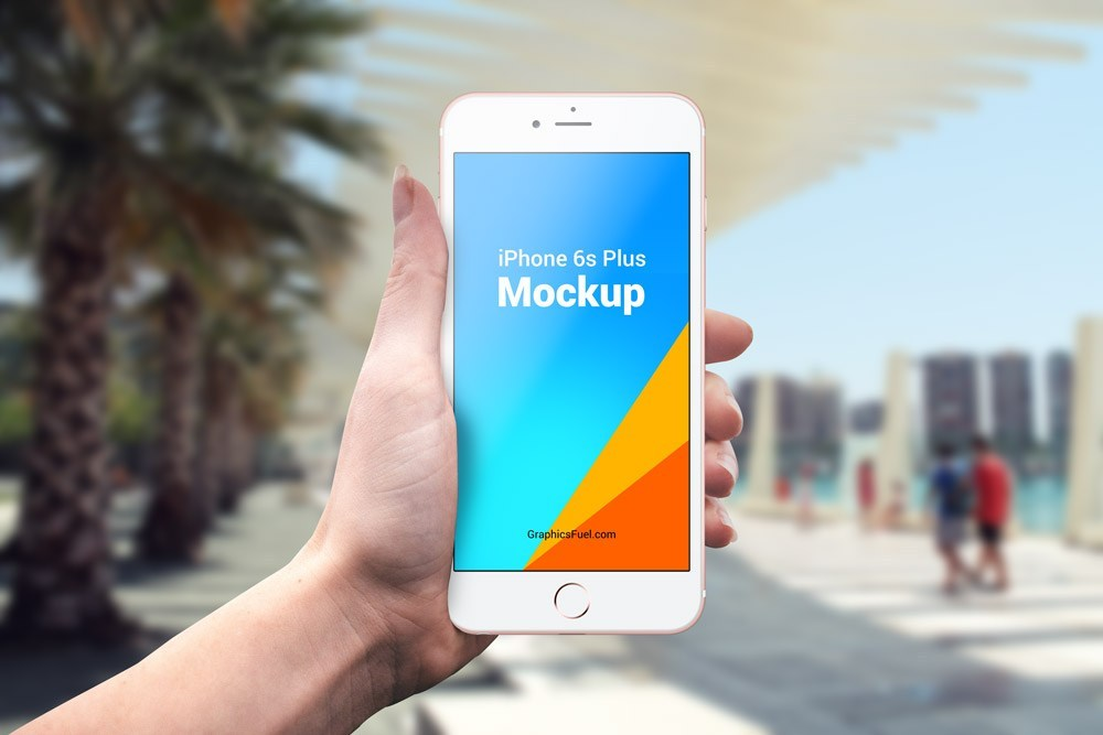 Outdoor iPhone 6s Plus Mockup