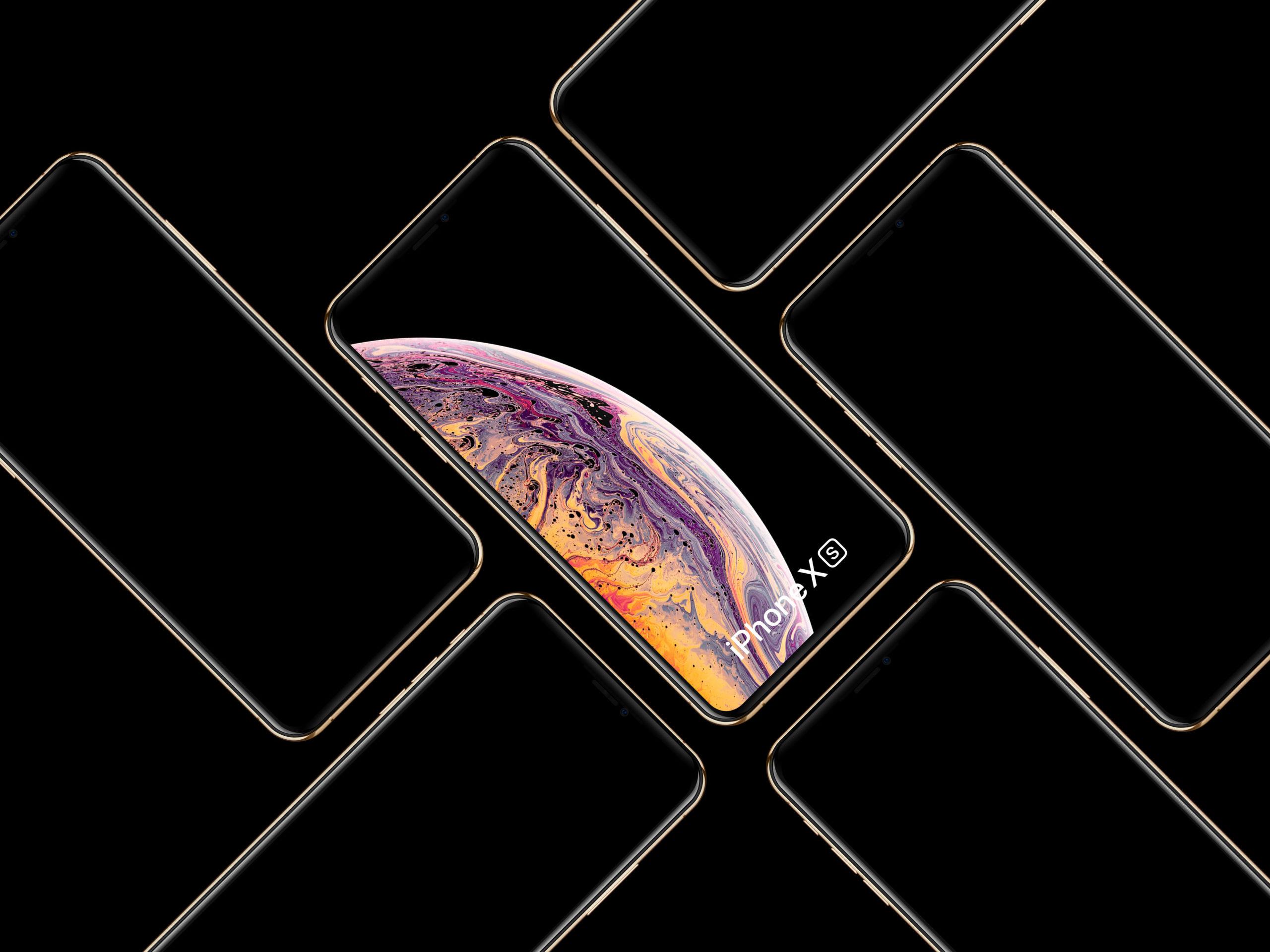 iPhone XS Mockups 02
