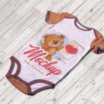 Baby Bodysuit Mockup