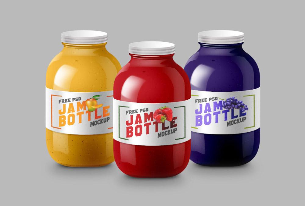 Set of Jam Jars/Bottles