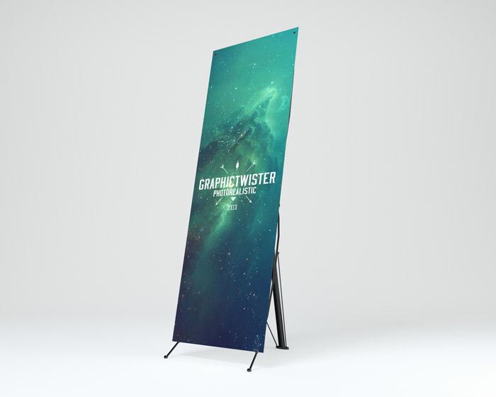 Pop Up Banner Mockup