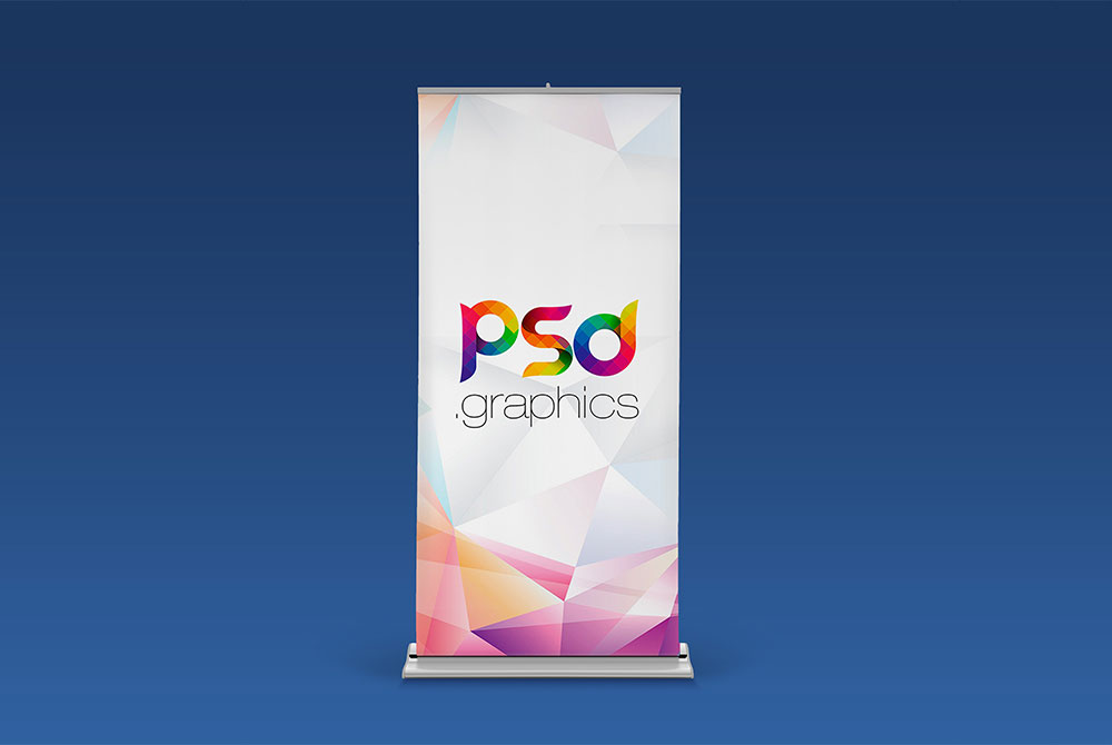 Rollup Banner PSD Mockup