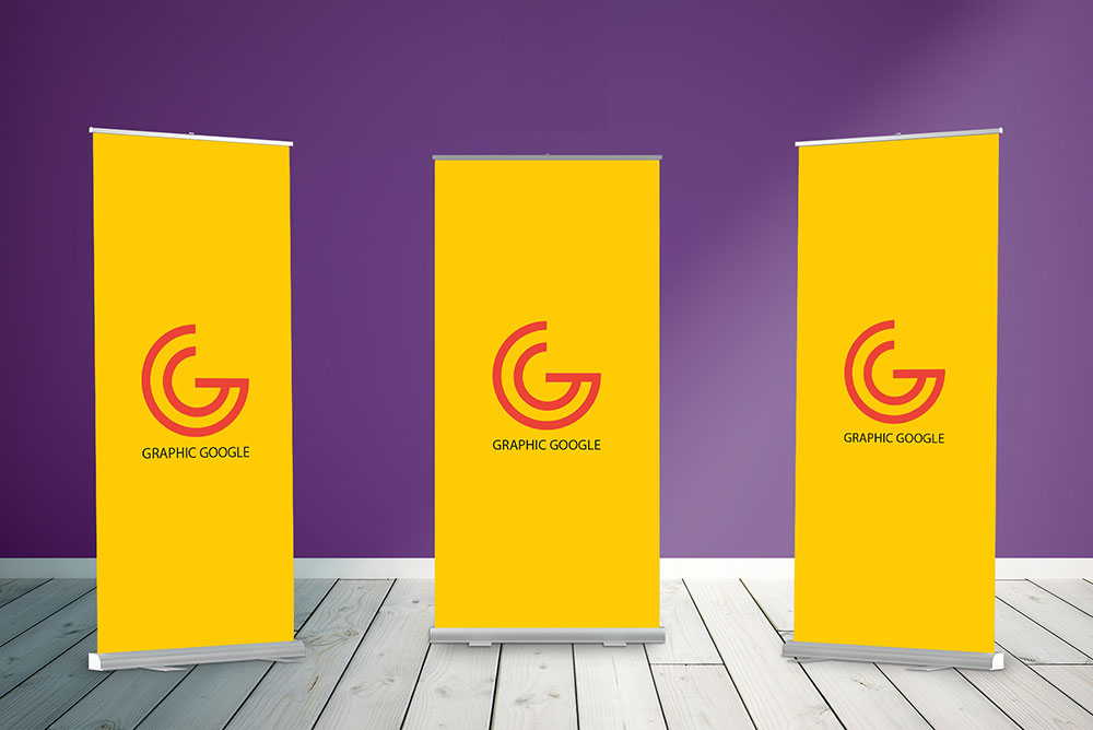 Rollup Standees Mockup