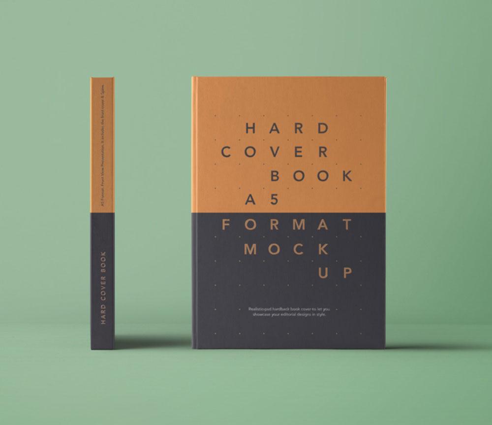 A5 Book Mockup