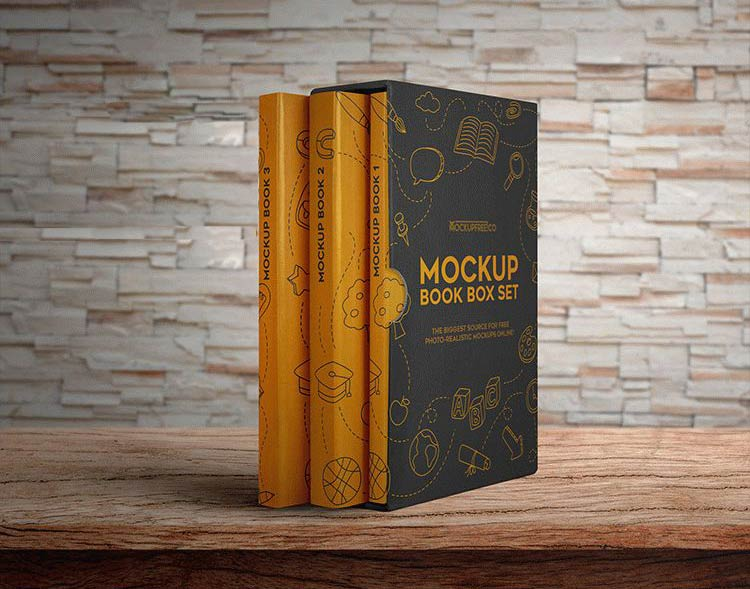 Book Box Mockup