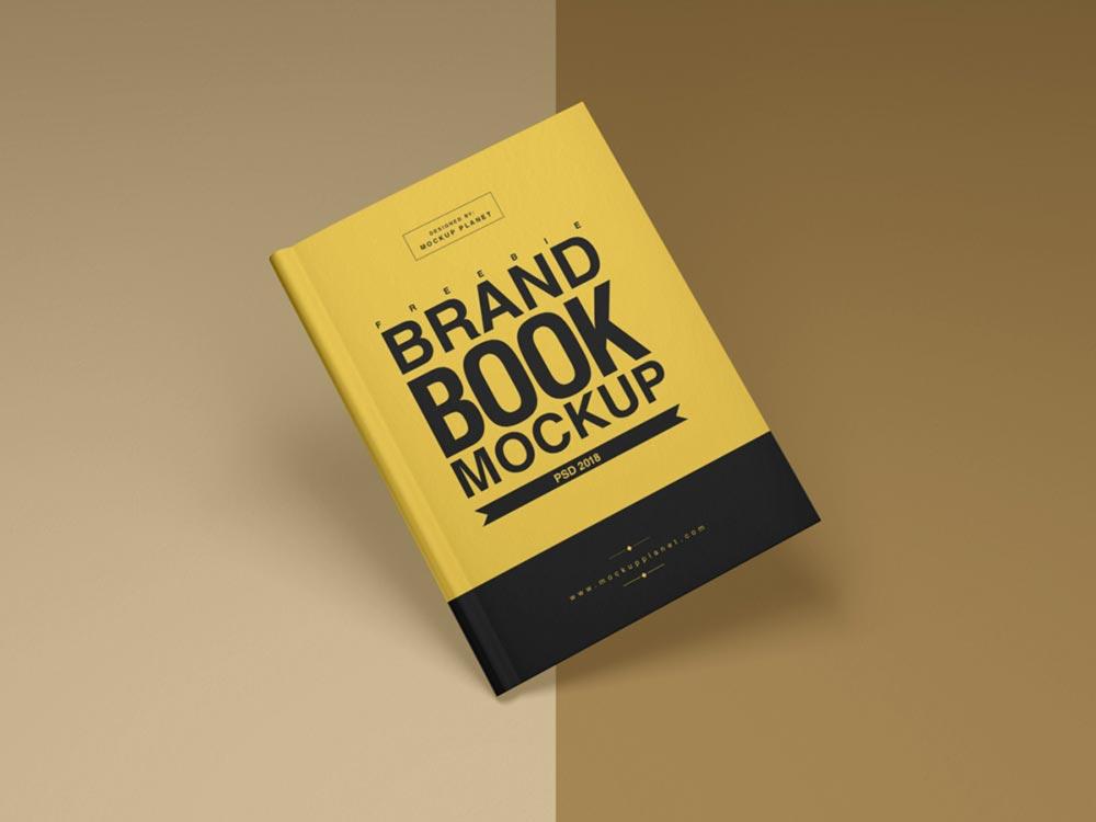 Brand Book Cover Mockup