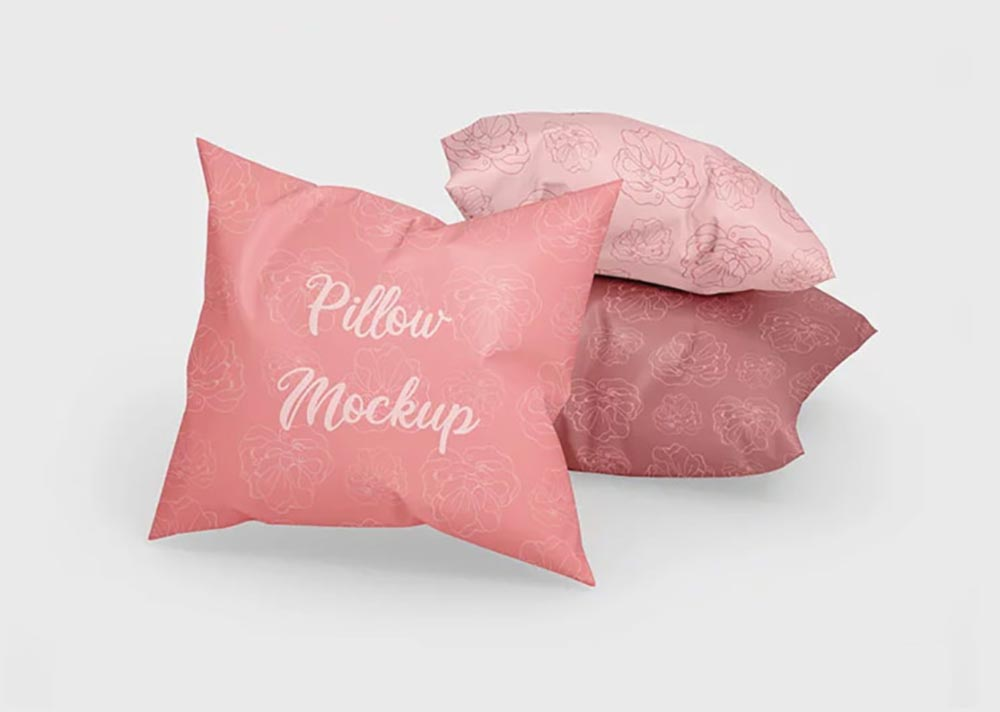Classic Pillow Mockup