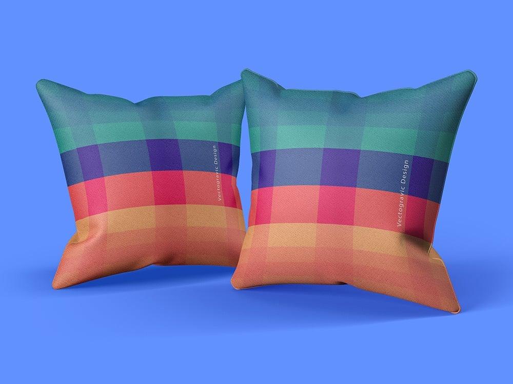 Customizable Pillow Mockup