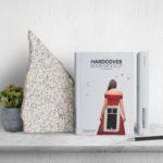 Free Hard Cover Book Mockup