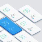 Free Minimalistic Smartphones Mockup
