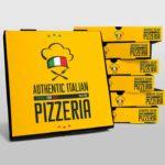 Free Pizza Boxes Mockup PSD