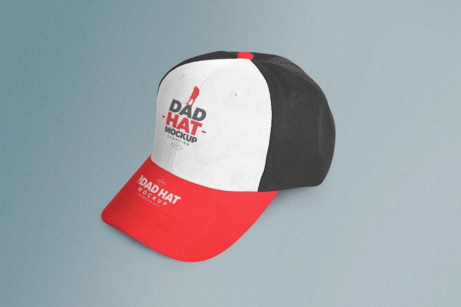 Free Polo Hat Mockup