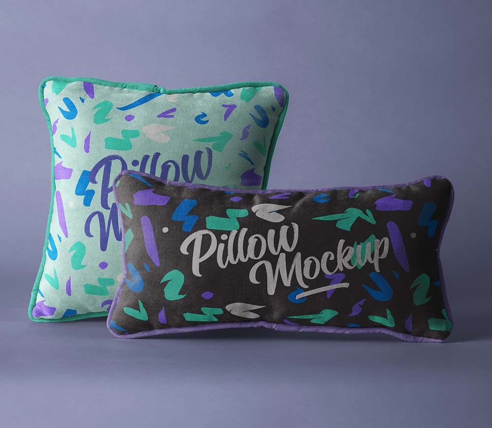 Psd-Pillow-Mockup-Set