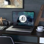 Free Realistic Macbook Pro Mockup