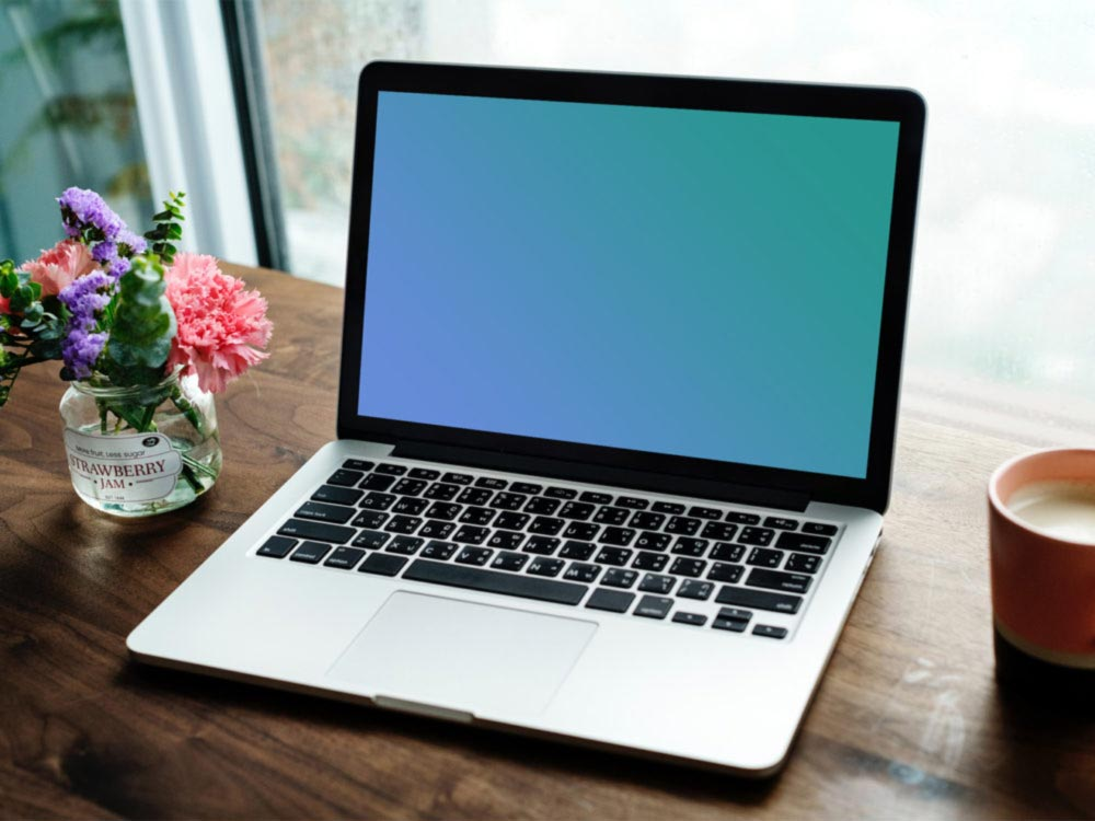Simple MacBook Mockup