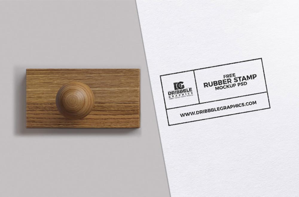 Simple Stamp Mockup