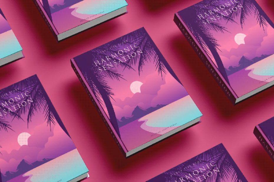 Free Sleek Book Cover Mockup