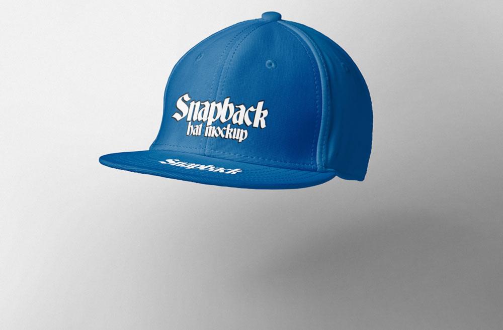 Snapback Hat Mockup