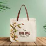 Free Cotton Tote Bag Mockup