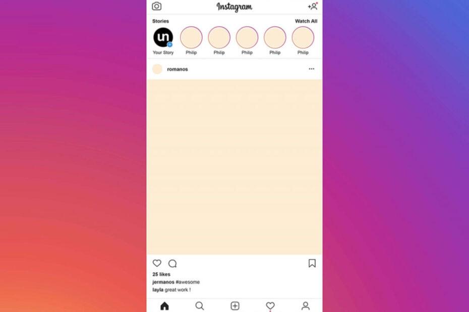 Free Instagram Post PSD Mockup
