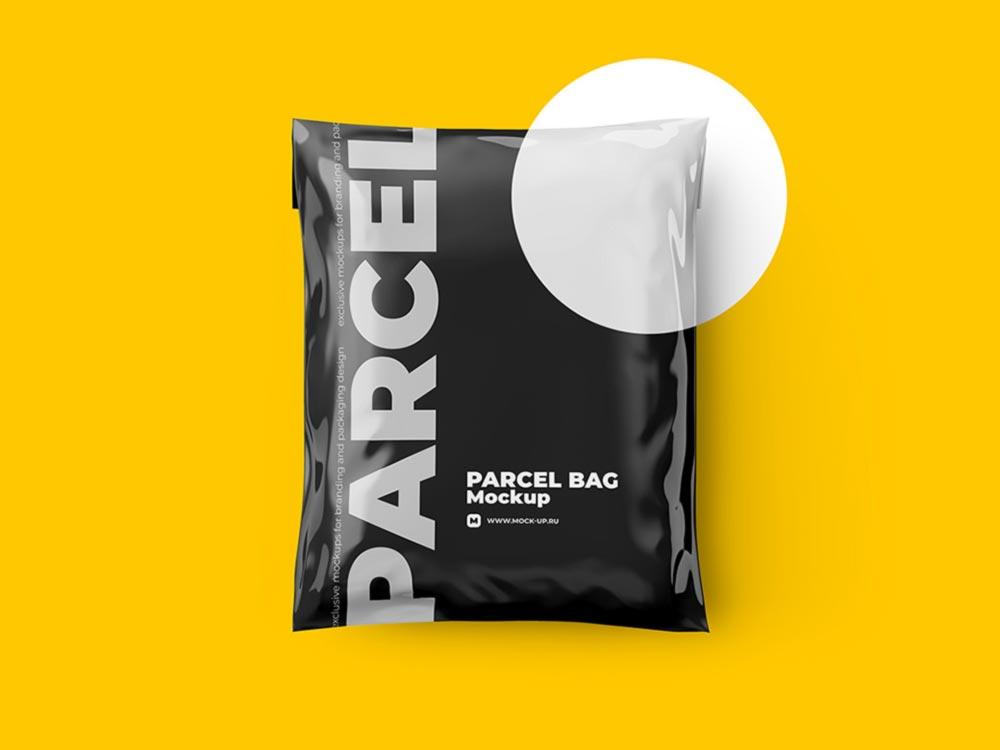 Parcel Bag Mockup