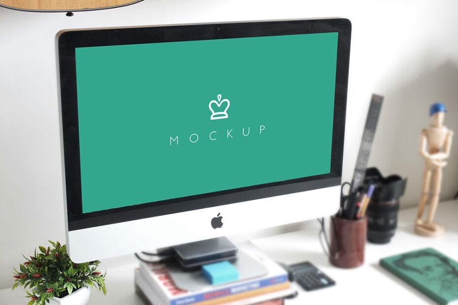 Simple iMac Mockup