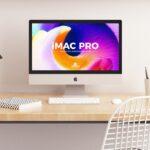 Free iMac Pro Mockup PSD
