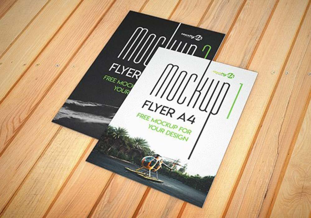 A4-Flyers-Mockup-Free-PSD