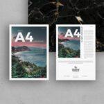Free Brand A4 Flyer Mockup PSD