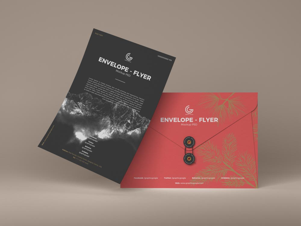 Envelope-Flyer-Mockup