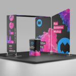 Free Exhibition Stall Mockup PSD