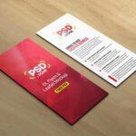 Free Leaflet Flyer Mockup PSD