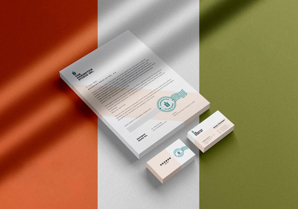 Letterhead-Business-Card-Mockup