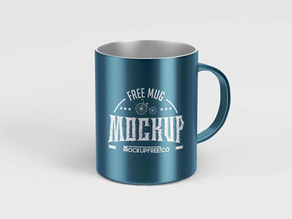 Metallic-Mug-Mockup