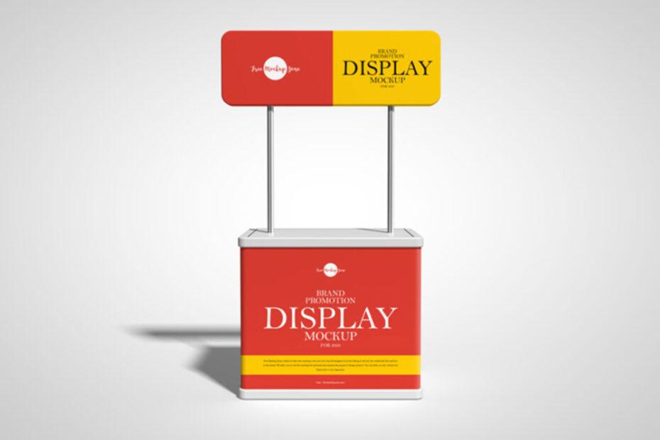 Free Promotion Display Mockup PSD