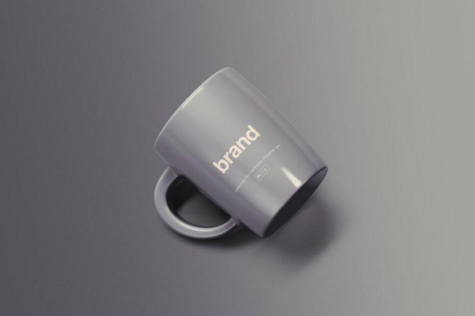 Free Simple Mug Mockup PSD