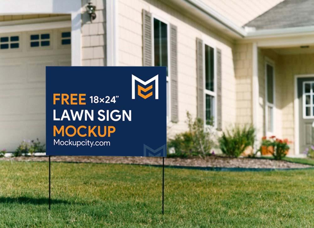 Lawn-Sign-PSD-Mockup