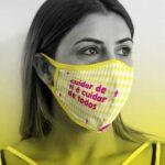 Free Cloth Face Mask Mockup
