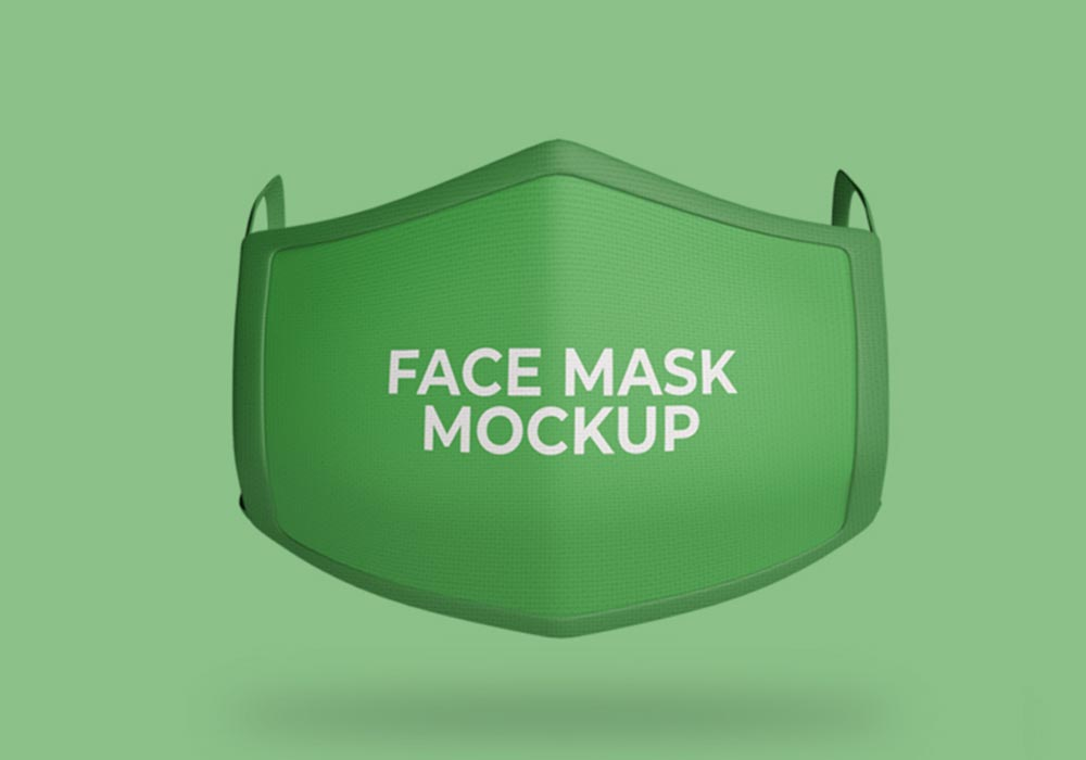 Isolated-Face-Mask-Mockup