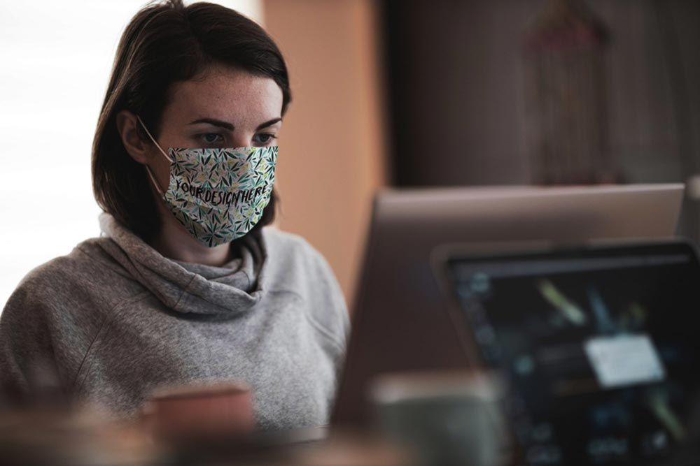 Working-in-Face-Mask-Mockup