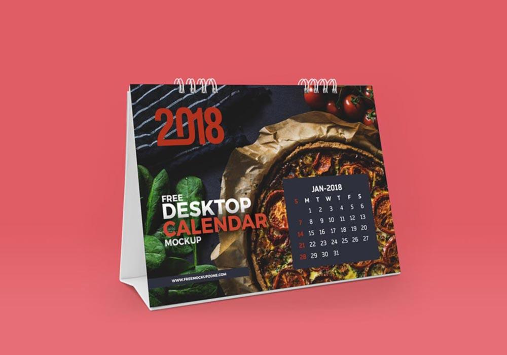 Desktop-Calendar-Mockup