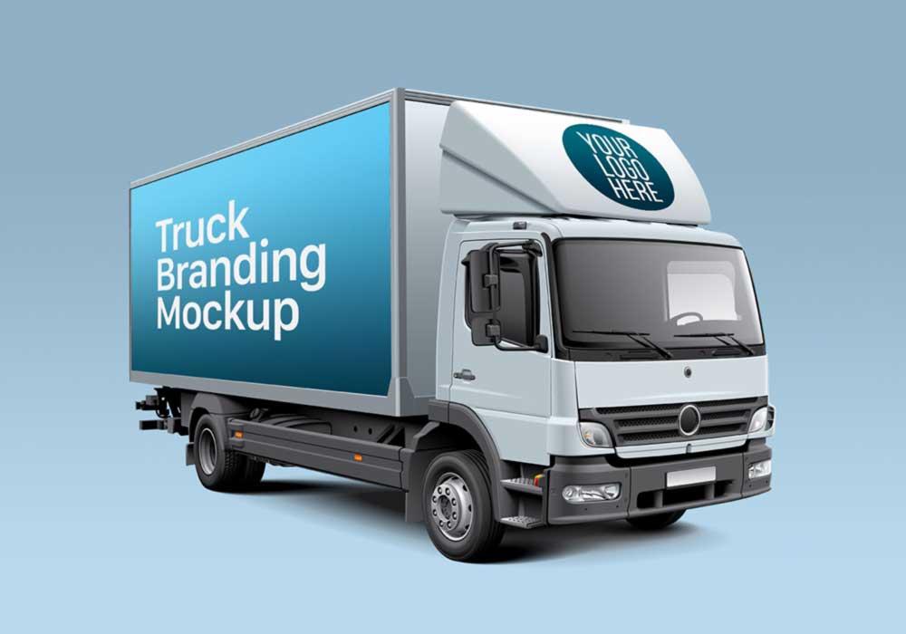 Box-Truck-PSD-Mockup