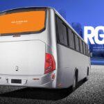 Free Bus Branding Mockup